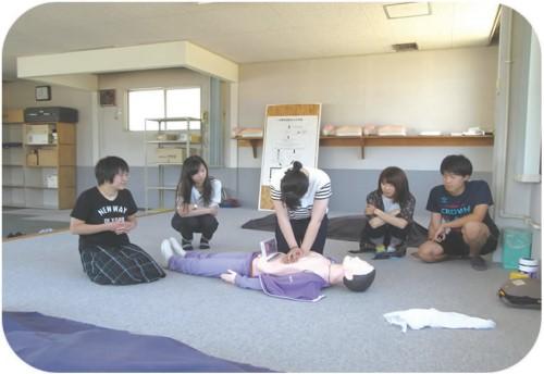 AEDについての教習